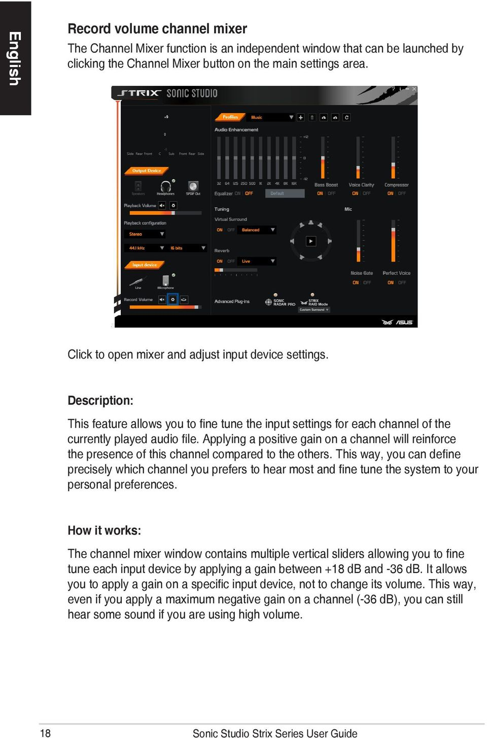 Sonic Studio Strix Series  User Guide - PDF