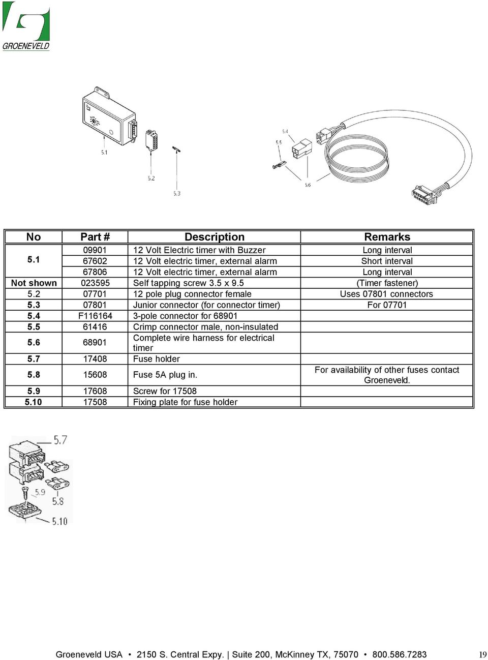 Automated Lubrication Systems Parts Accessories Pdf Sbd Motorsport Suzuki Hayabusa Management Wiring Harnesses 2 07701 12 Pole Plug Connector Female Uses 07801 Connectors 53 Junior For