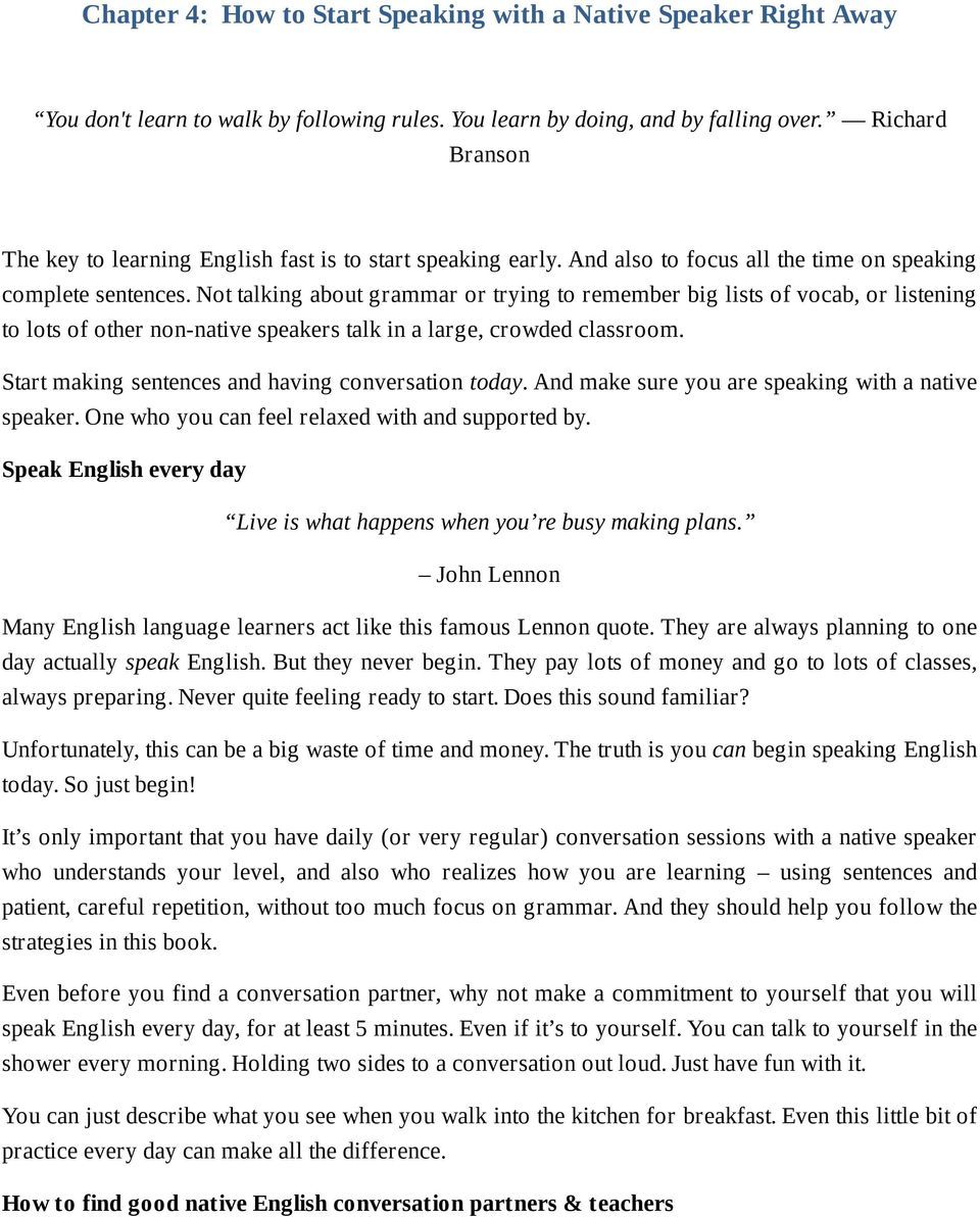 Learn English 300% Faster  69 Tips to Speak English Like a Native