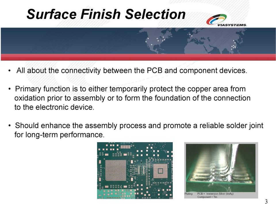 Solutions without Boundaries  PCB Surface Finishes  Todd