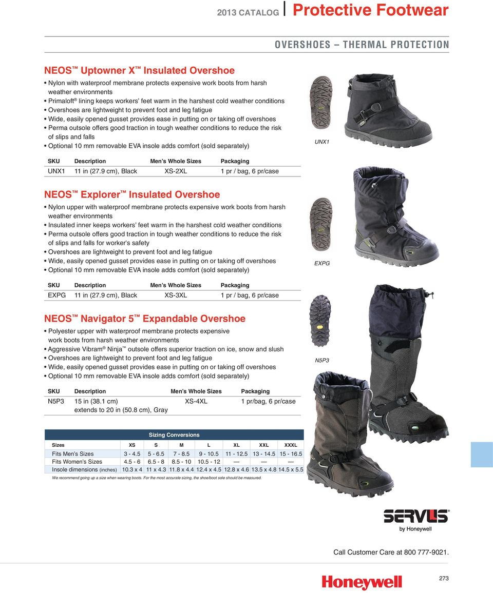 STABILicers Voyager Overshoe Traction Ice Cleat for Snow and Ice 1 pair Sperian Protection Group VNS1-BLK-2XL