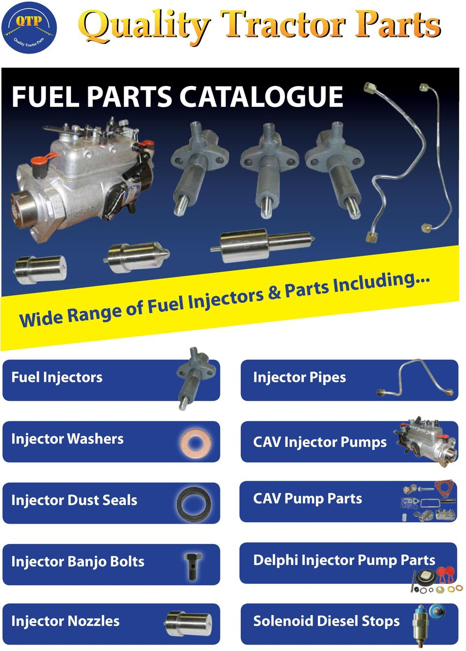Fuel Parts Catalogue Pdf Ford 7 3 Filter Assy Injectors Injector Pipes Washers Cav
