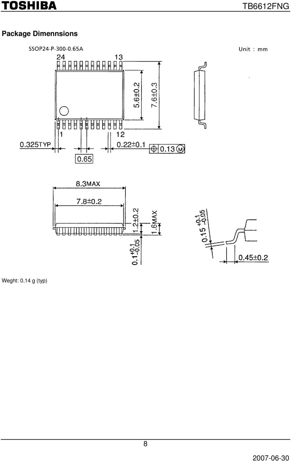 T B F N G Tb6612fng Driver Ic For Dual Dc Motor Features Toshiba Regulated Power Supply Circuit Diagram Composed Of Ca723c Block Diagrams Some The Functional Blocks Circuits Or Constants In May Be Omitted Simplified Explanatory Purposes 2