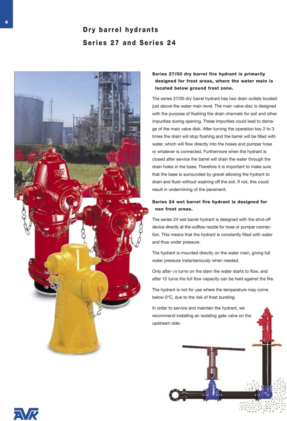 Fire hydrant: device and principle of operation, installation requirements 77