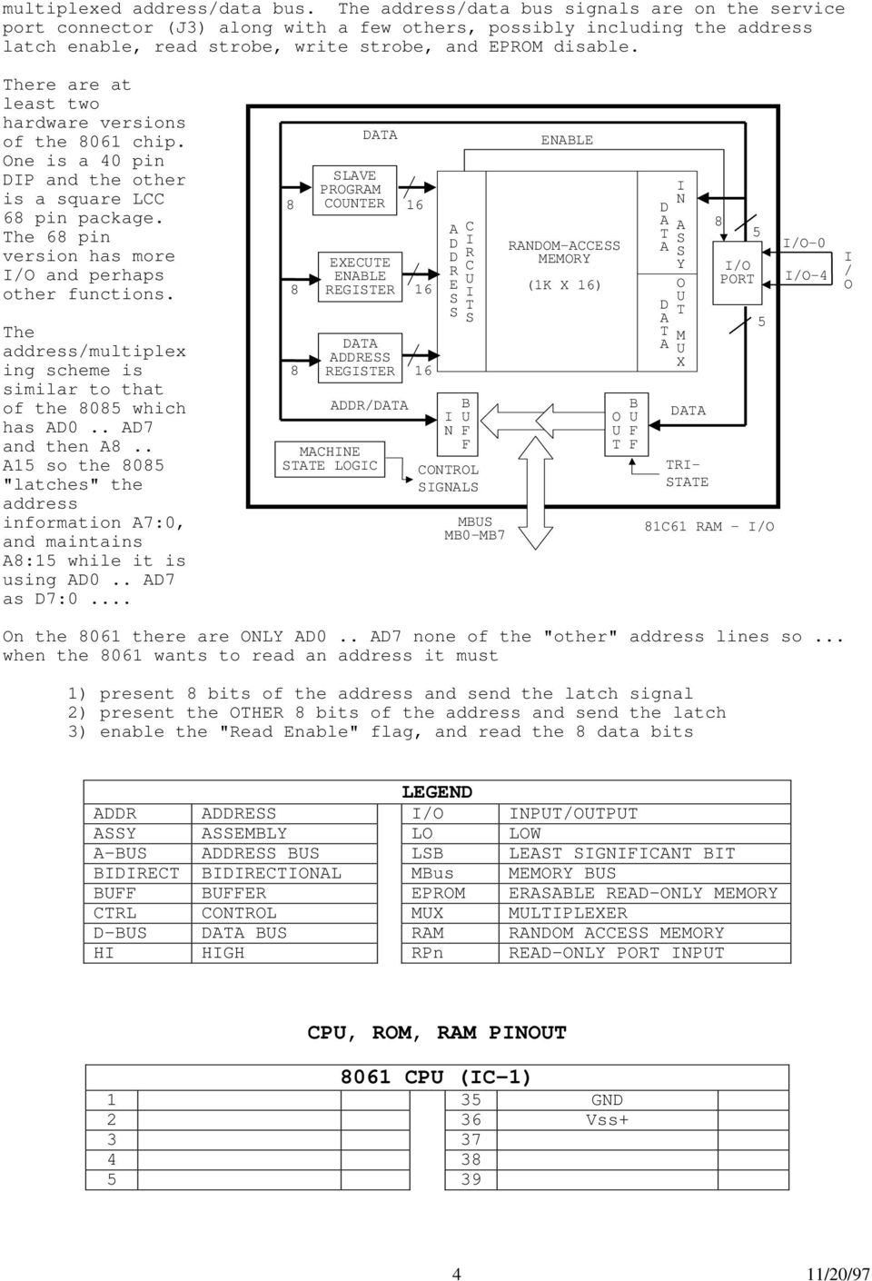 Technical Notes on The EEC-IV MCU - PDF