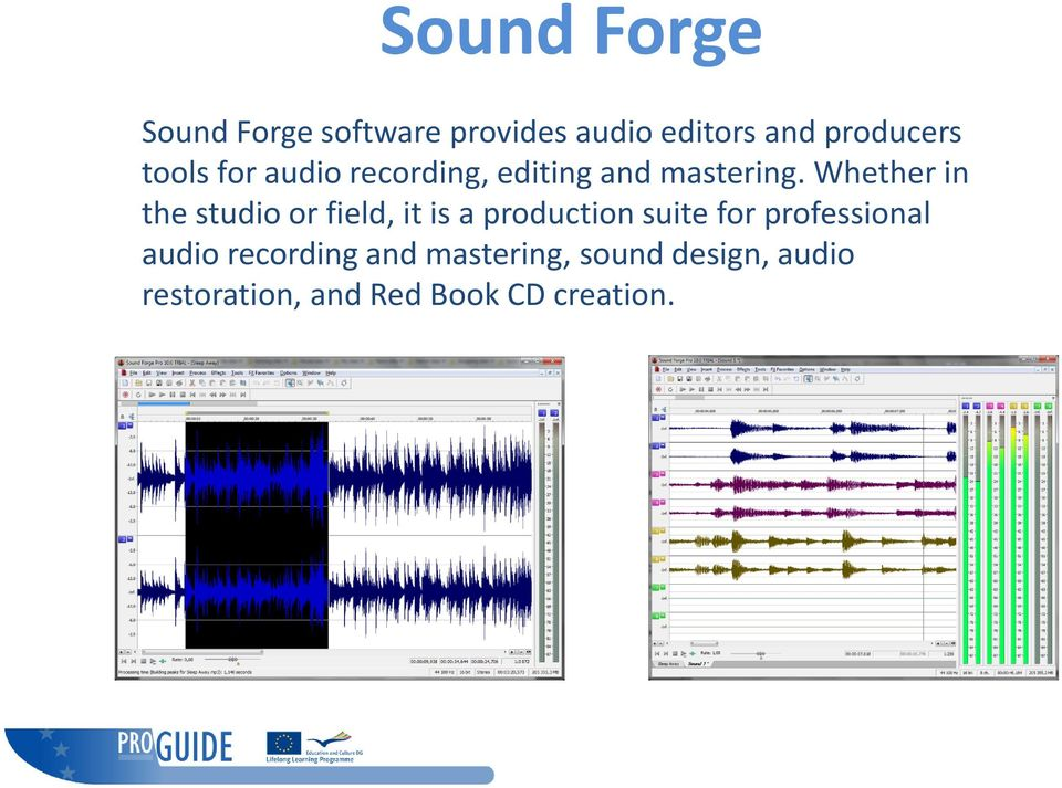 Sadie and Sound Forge JAWS scripts - PDF