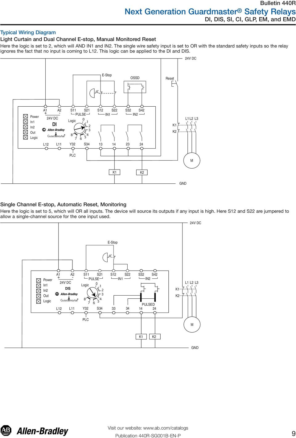 Wiring Diagram Safety Relay safety circuit safety relay ... on lucas relay wiring, allen bradley relay wiring, crydom relay wiring, siemens relay wiring, bosch relay wiring, idec relay wiring, finder relay wiring,