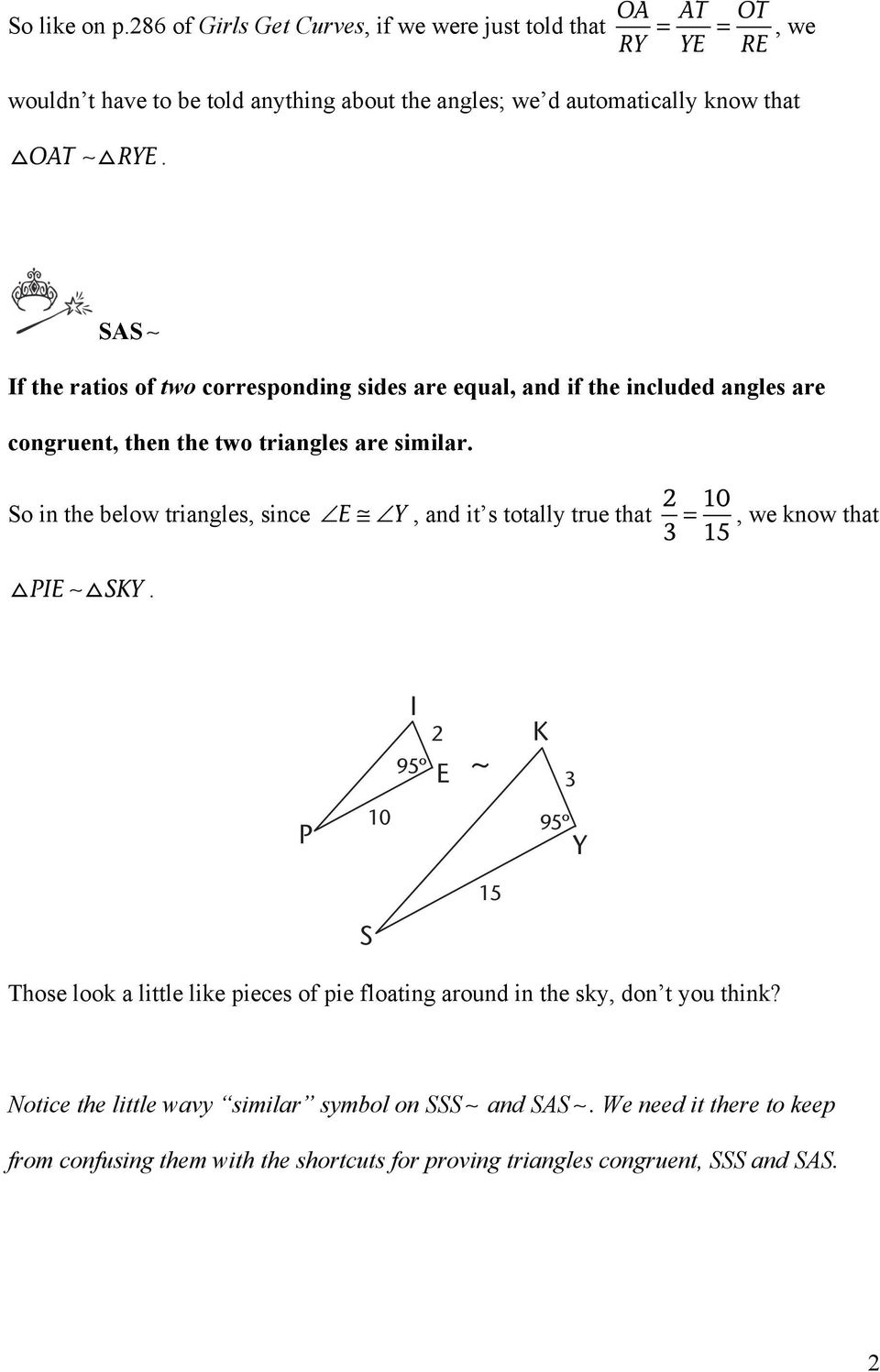 Two More Methods For Proving That Triangles Are Similar Pdf