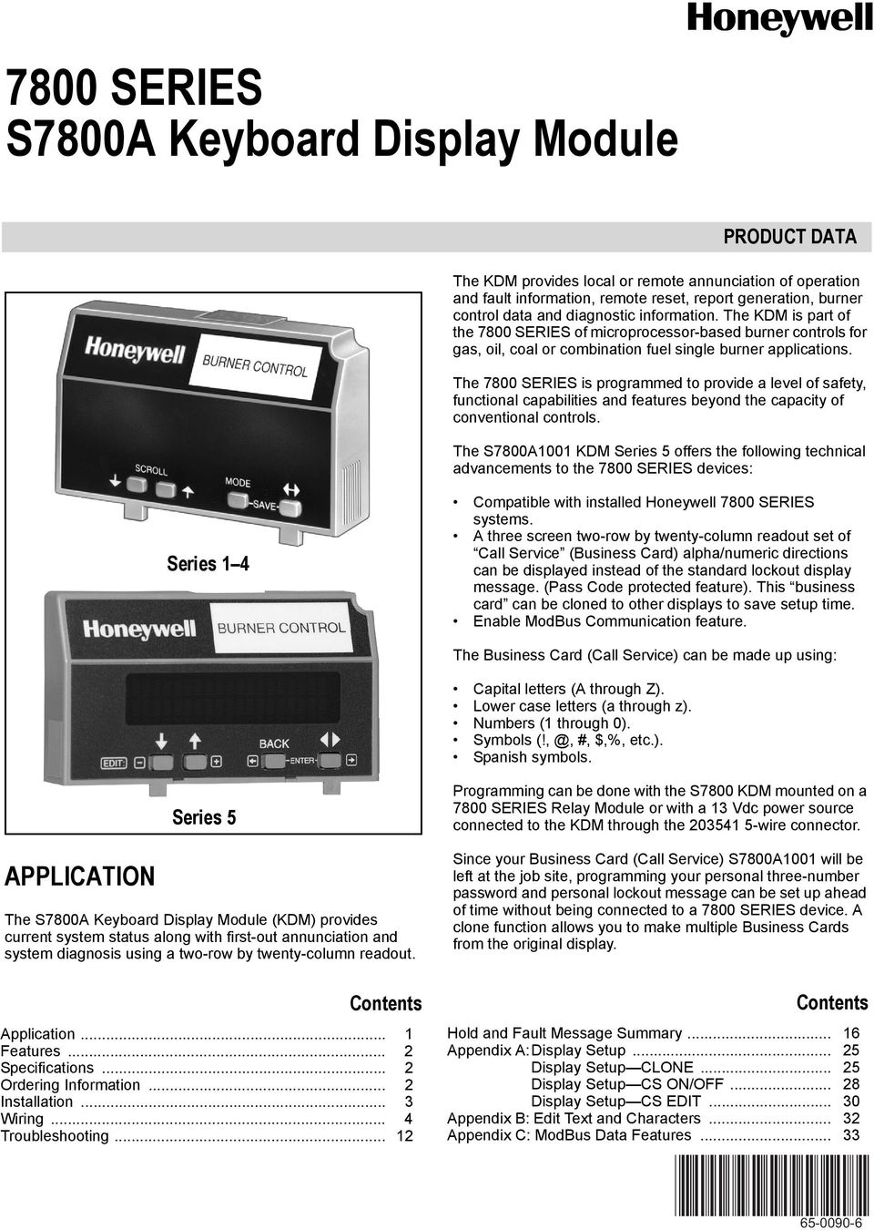 Honeywell 7800 Series Fault Codes Wiring Diagram The Is Programmed To Provide A Level Of Safety Functional Capabilities And Features 960x1350