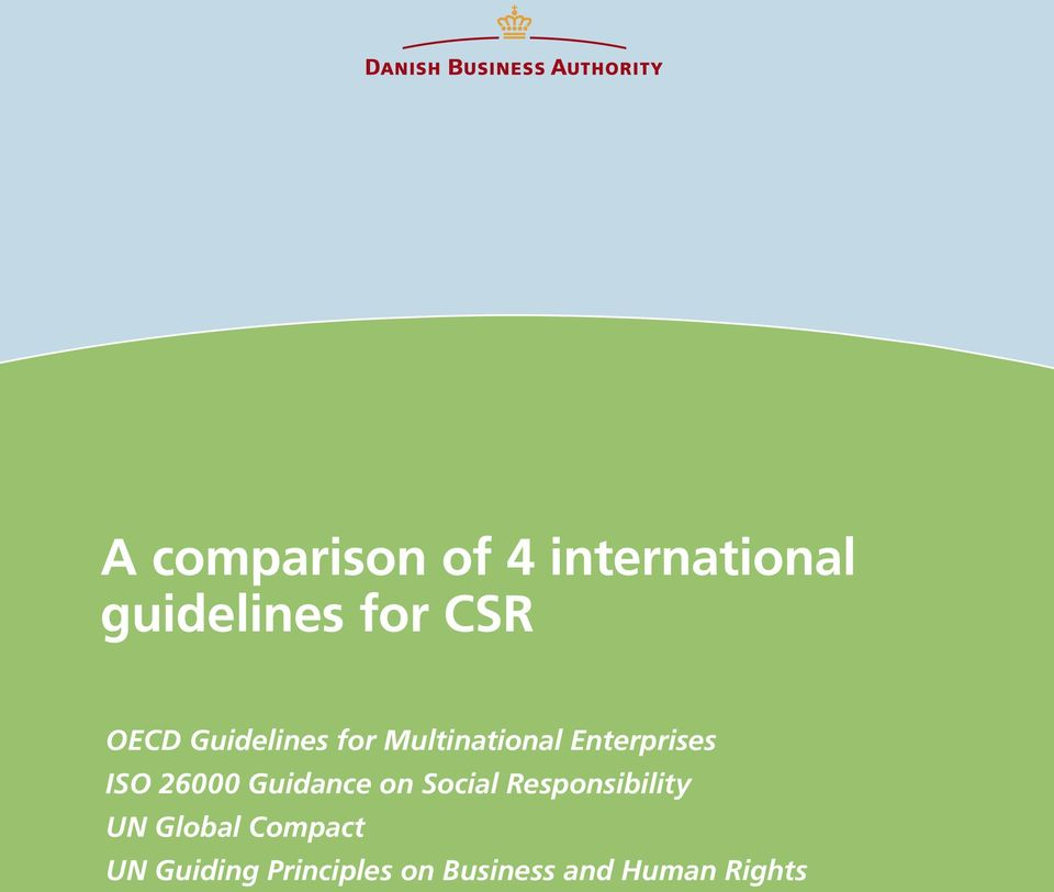 26000 Guidance on Social Responsibility UN Global