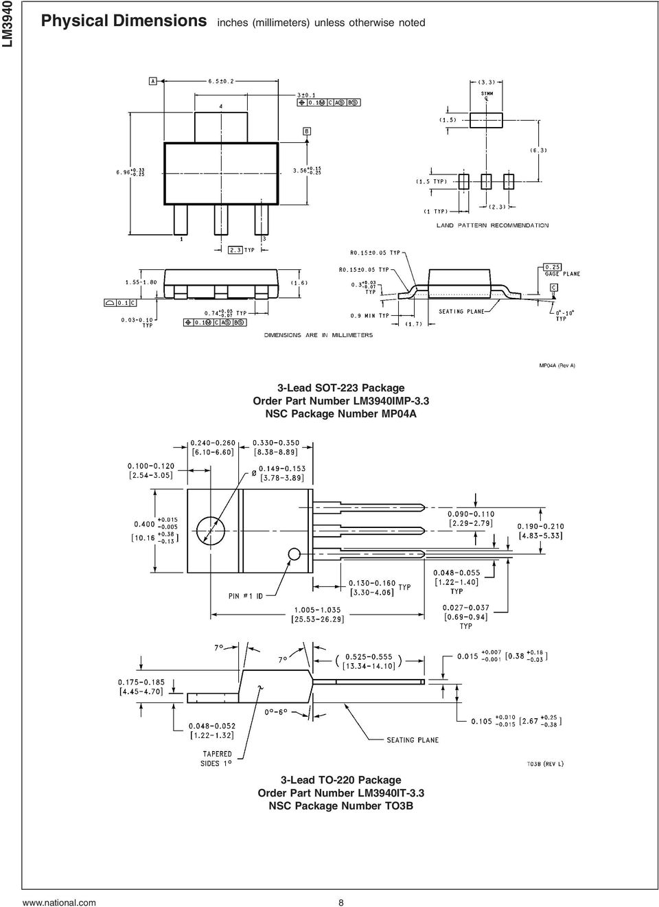 Lm3940 1a Low Dropout Regulator For 5v To 33v Conversion Pdf Very Simple Lead Acid Battery Charger With Pb137 3 Nsc Package Number Mp04a 220 Order Part