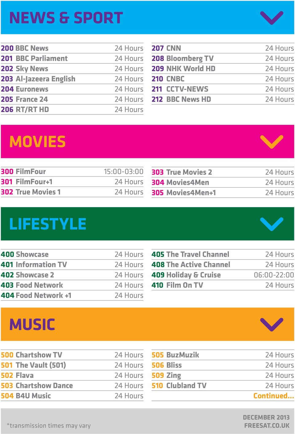 YOUR CHOICE CHANNEL ENTERTAINMENT - PDF