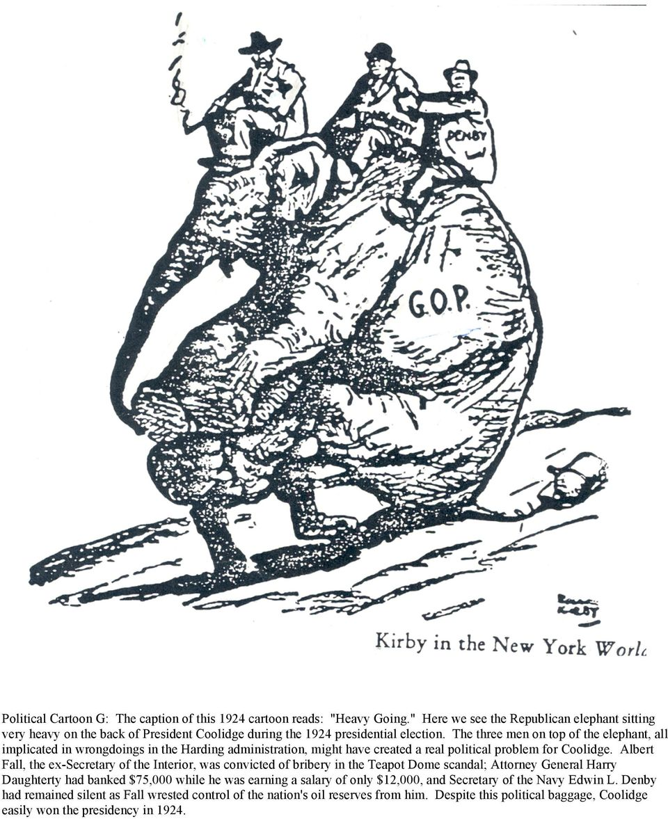 Political Cartoon A The Caption Of This Cartoon Reads The Great