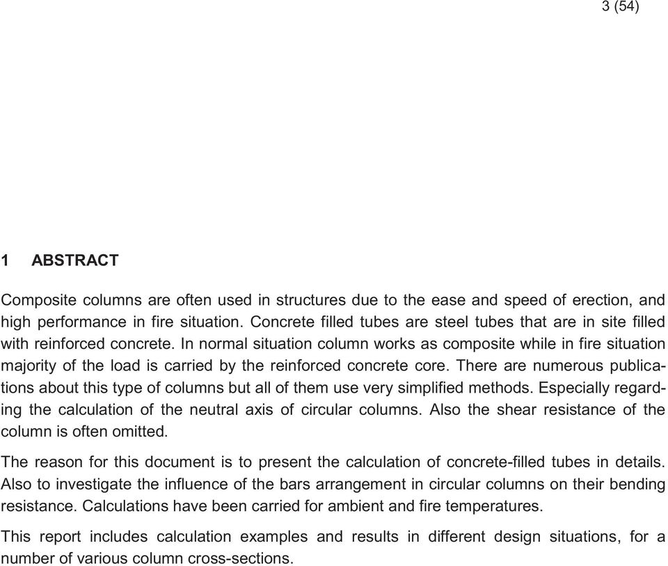 Karol Bzdawka Composite Column - Calculation Examples - PDF