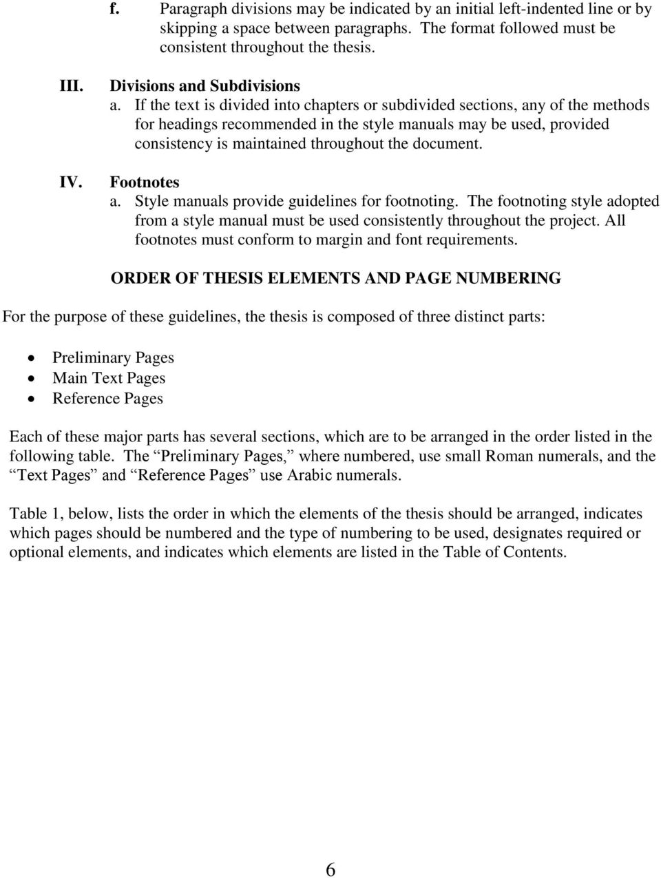 nmu thesis guidelines