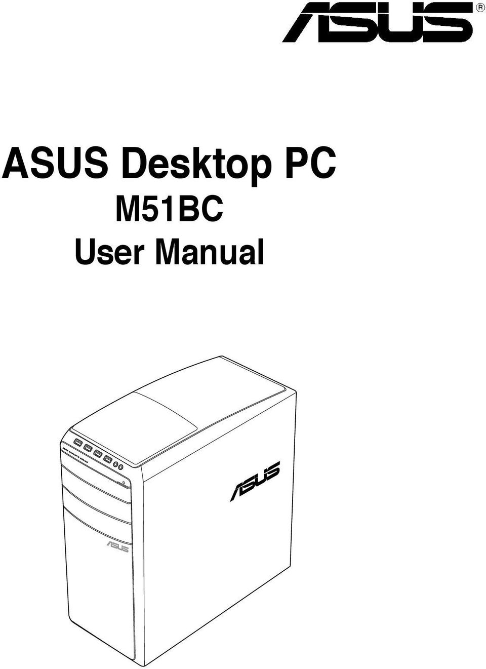 No part of this manual, including the products and software described in  it, may be reproduced, transmitted, ...