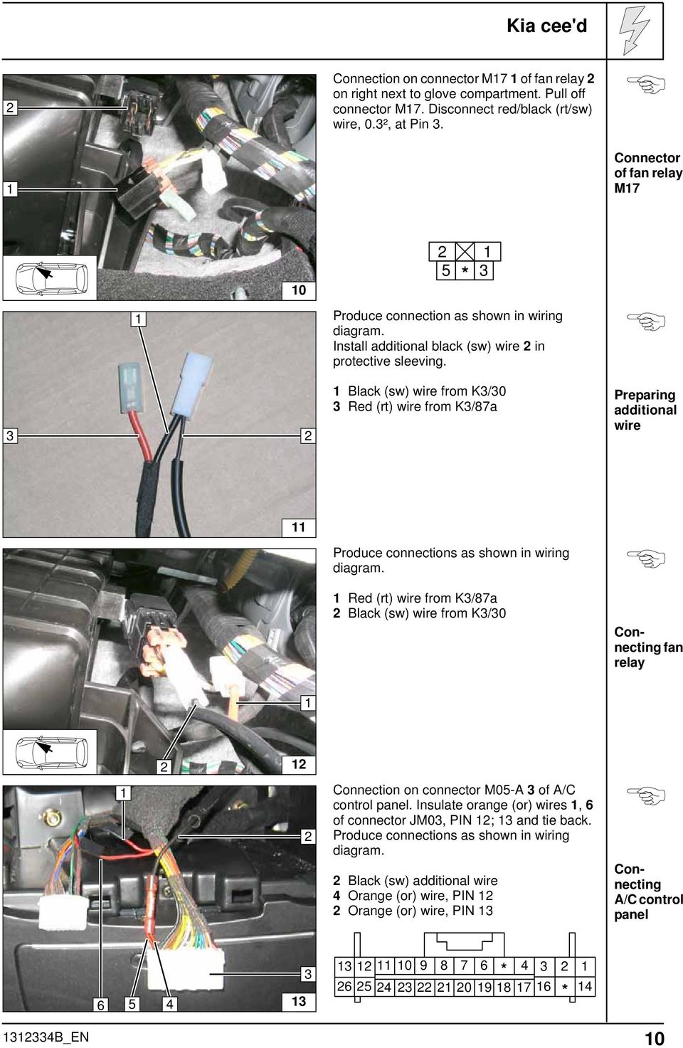 Always Follow All Webasto Installation And Repair Instructions Diagram Further 5 Pin Relay Wiring On For 12 3 Black Sw Wire From K3 30 Red Rt