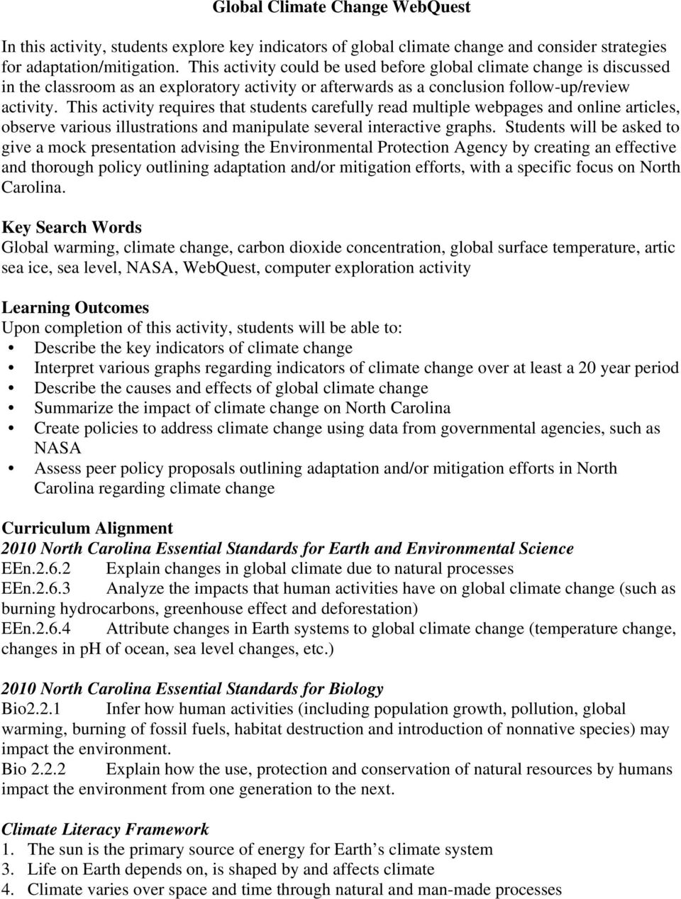 global warming articles for students pdf