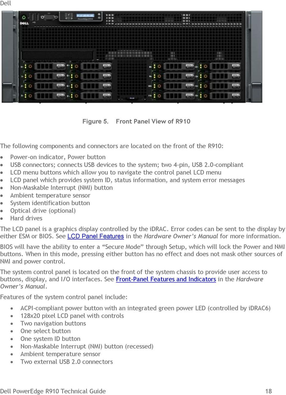 Dell PowerEdge R910  Technical Guide - PDF