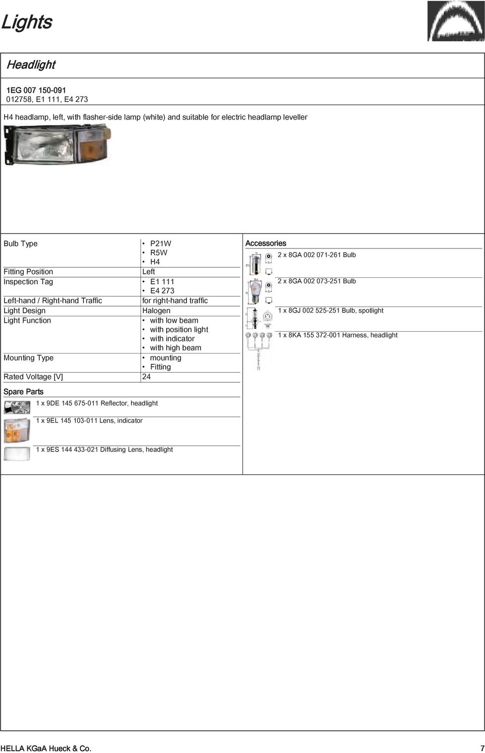 Products For Your Pdf Scania 124 Wiring Diagram With High Beam Mounting Type Fitting Rated Voltage V 24 Spare Parts 1