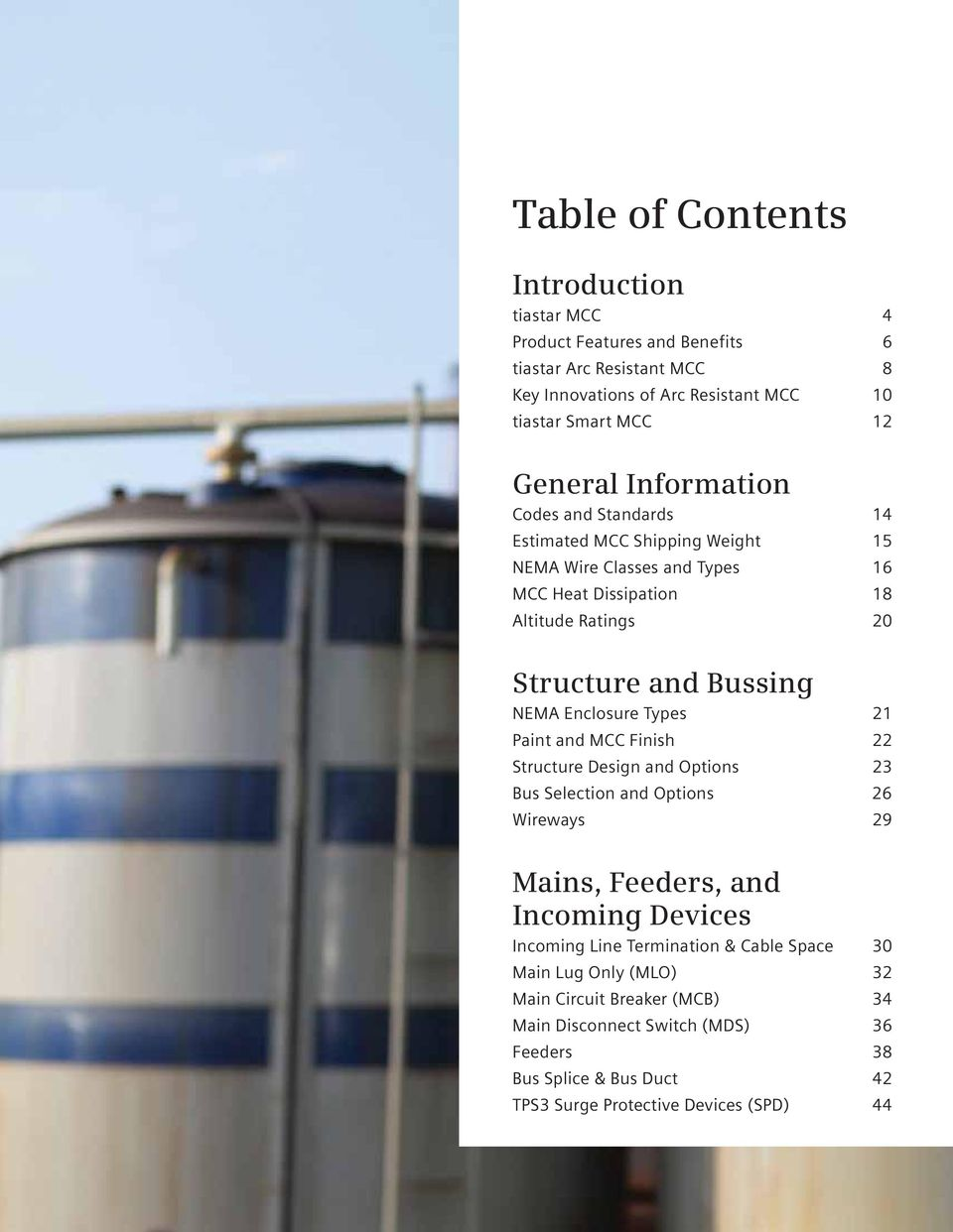 Tiastar Motor Control Center Catalog And Application Guide Pdf Mcc Panel Diagram Page 3 Pics About Space Enclosure Types 2 Paint Finish 22 Structure Design Options 23 Bus Selection
