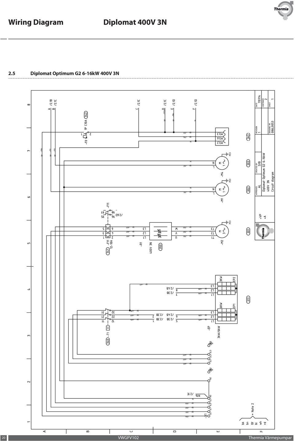Wiring Diagram Diplomat 400v 3n Pdf 720 Console Free Download Diagrams Pictures 20