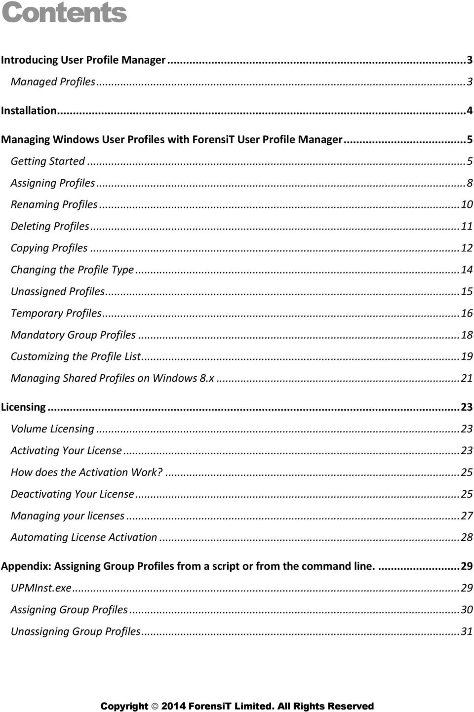 User Profile Manager PDF