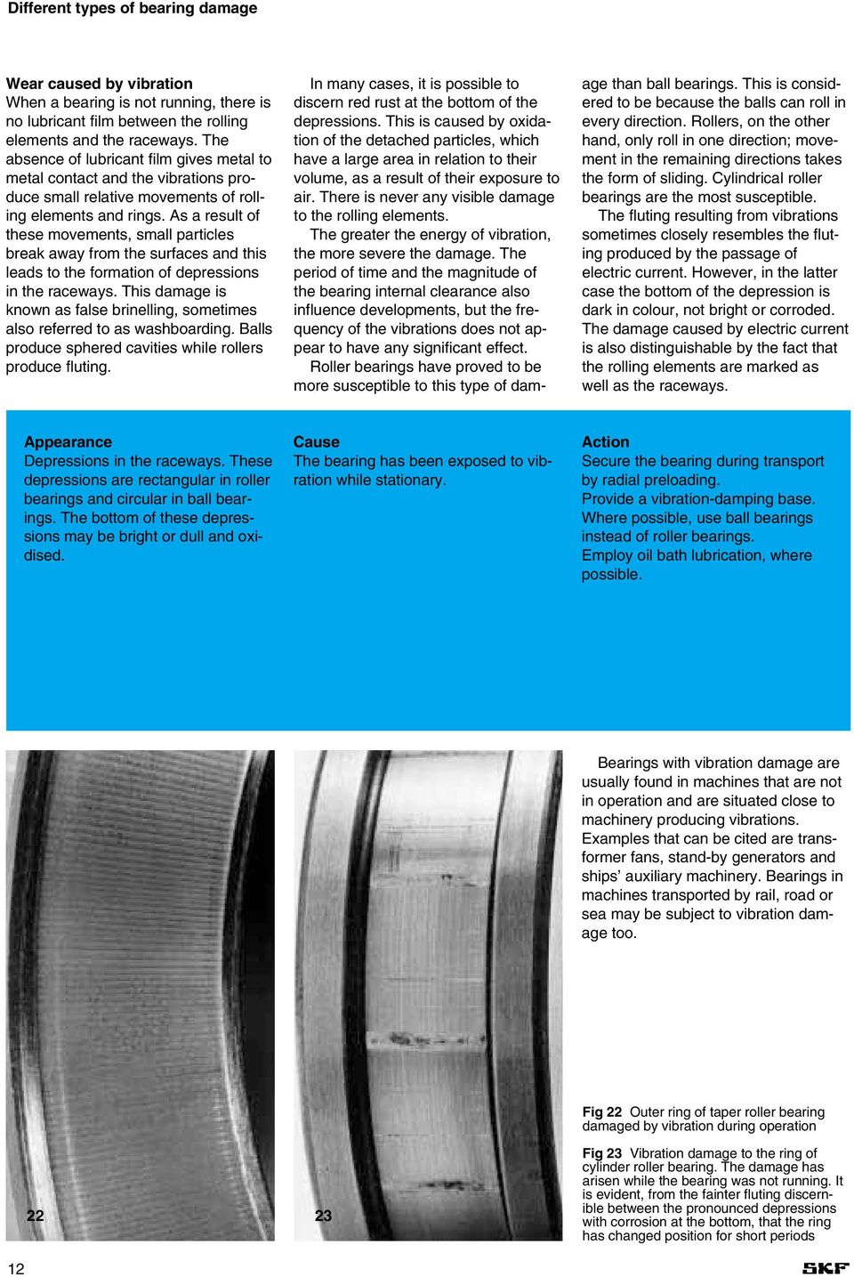 Product information 401  Bearing failures and their causes - PDF