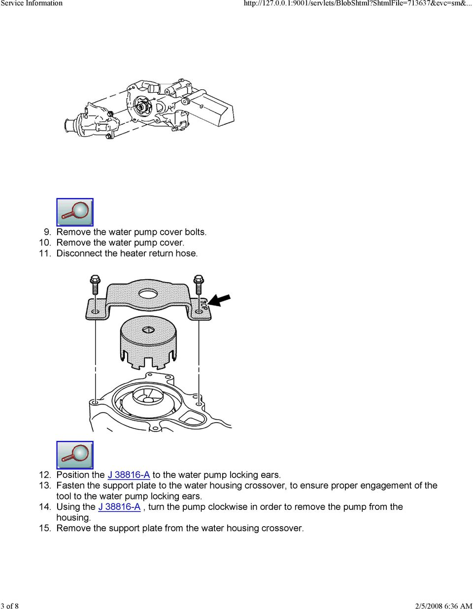 Water Pump Replacement - PDF