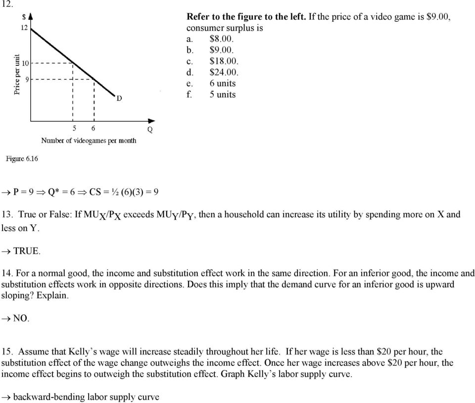 ECN 221 Chapter 5 Practice Problems This Is Not Due For A