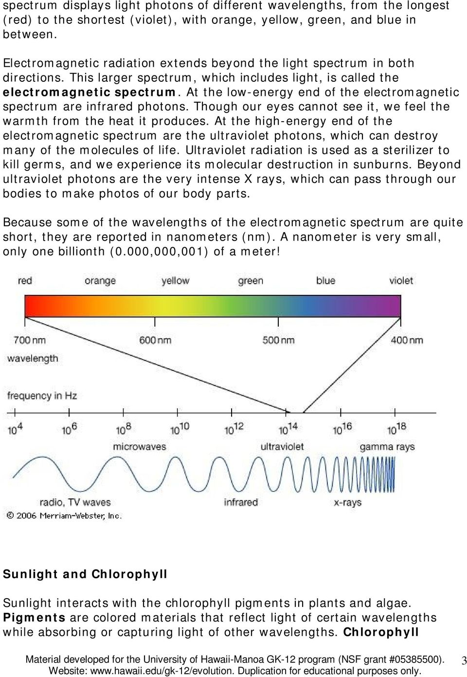 At the low-energy end of the electromagnetic spectrum are infrared photons. Though our eyes cannot see it, we feel the warmth from the heat it produces.