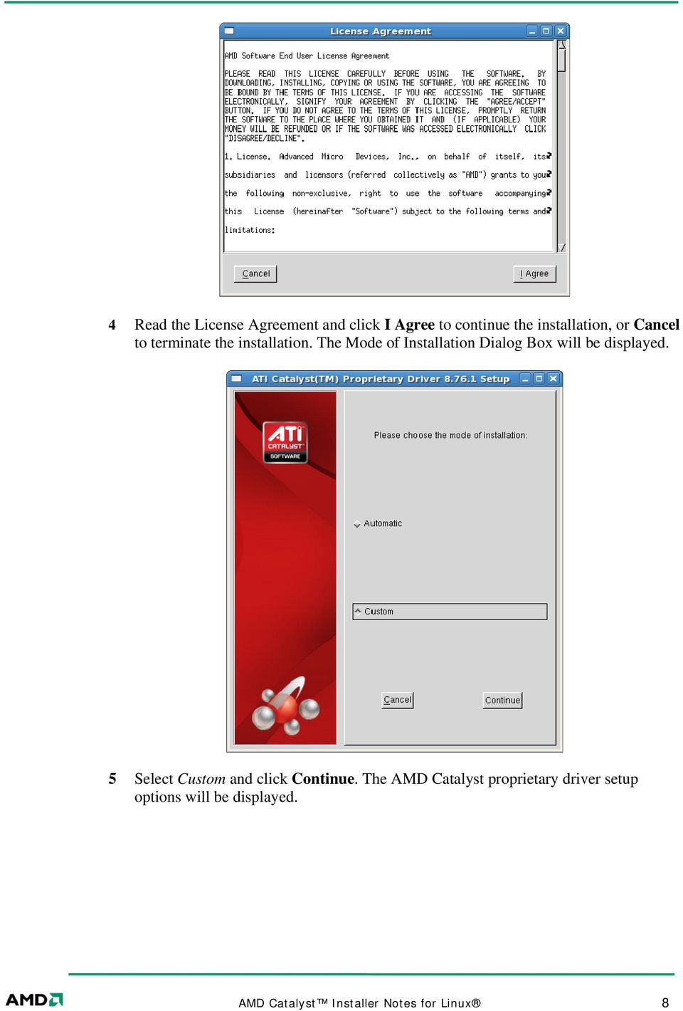 AMD Catalyst Installer Notes for Linux - PDF