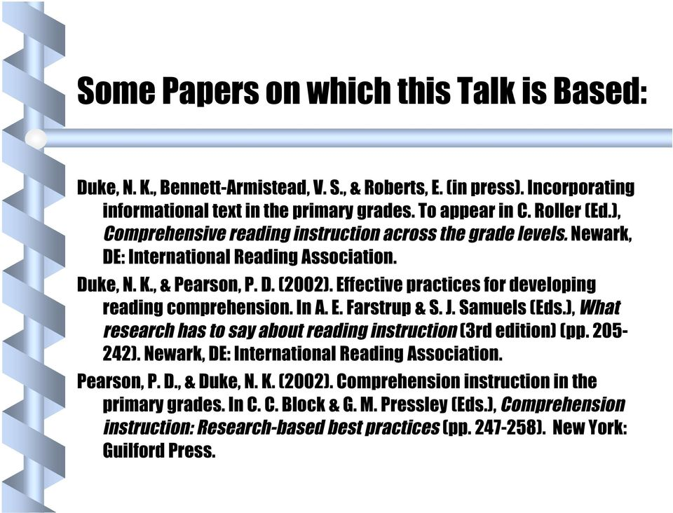 Improving Comprehension Of Informational Text Pdf