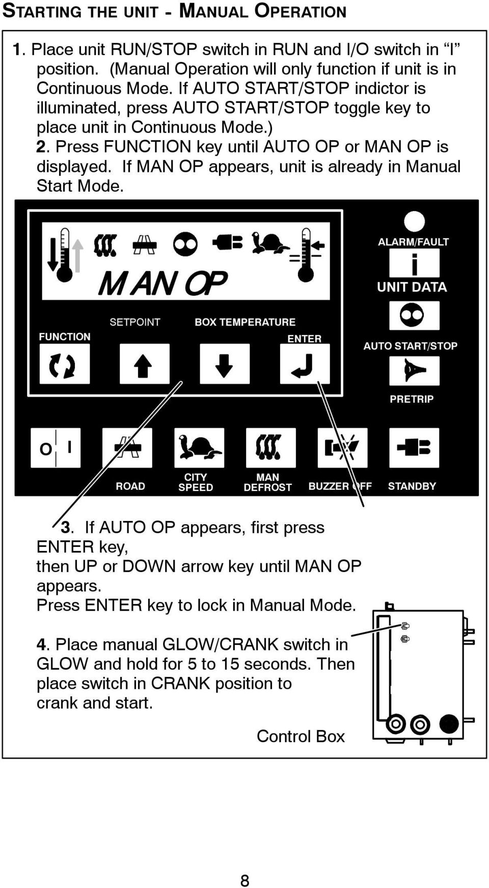 operator s manual supra 550 650 750 850 950 truck rh docplayer net Carrier Transicold Controller Pics Carrier Transicold Parts