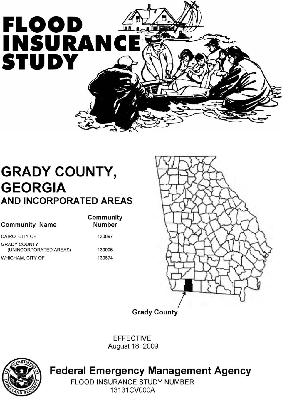 130096 WHIGHAM, CITY OF 130674 Grady County EFFECTIVE: August 18, 2009