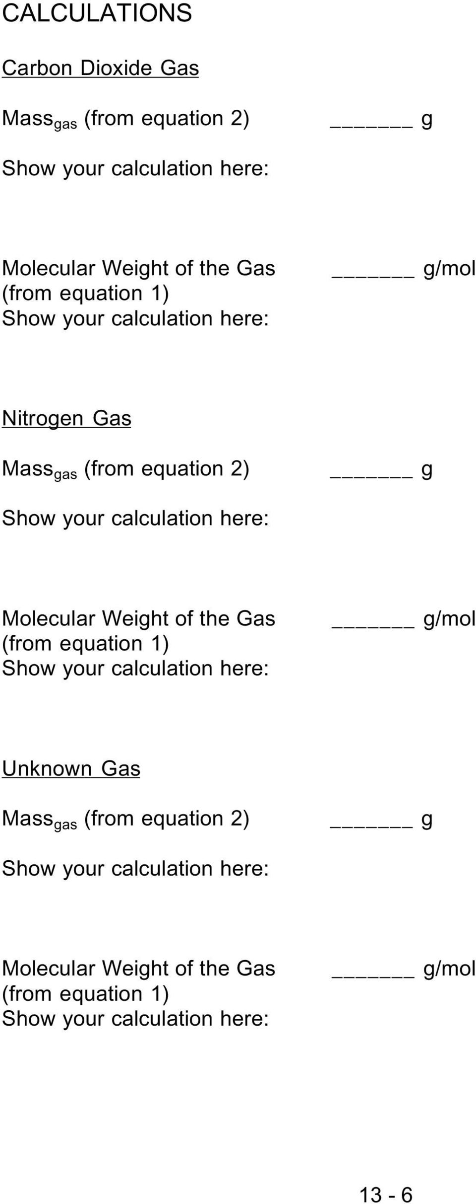 molar mass of butane lab