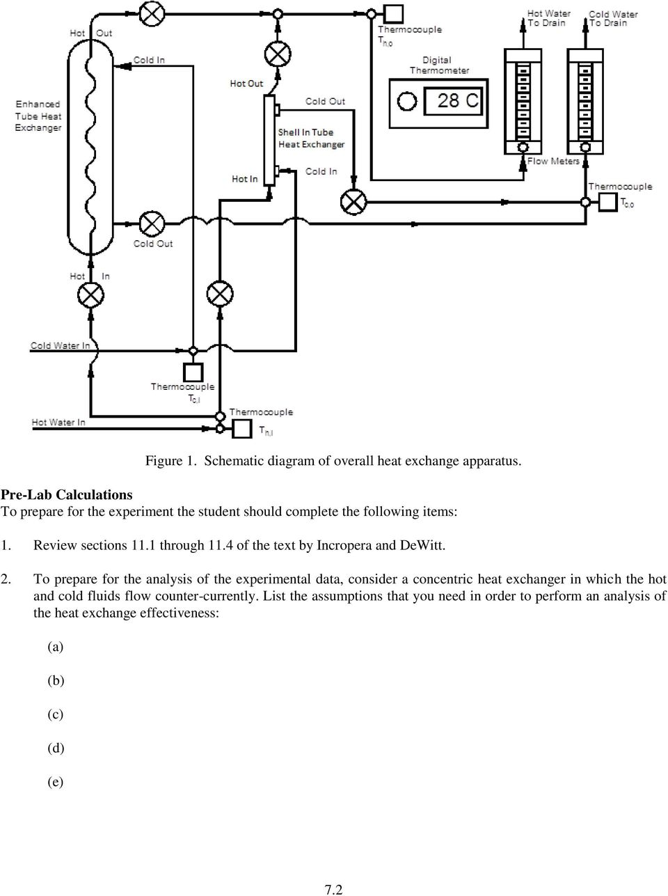 Me Heat Transfer Laboratory Experiment No 7 Analysis Of Enhanced Digital Thermometer Schematics 1 Through 114 The Text By Incropera And Dewitt 2