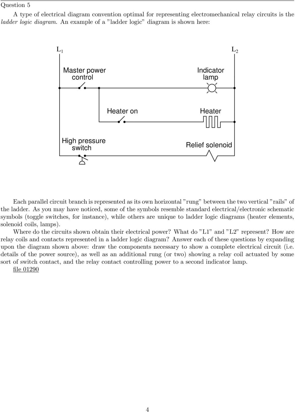 Electromechanical Relay Logic Pdf Toggle A This Circuit Will Each Own Horizontal Rung Between The Two Vertical Rails Of Ladder