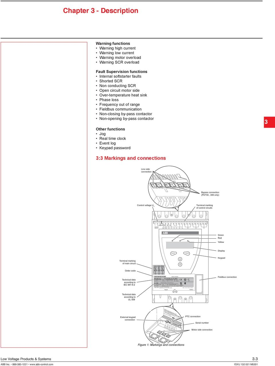 Installation And Maintenance Manual Softstarters Pst Pstb Pdf Scr Control Circuit Eq 7f39 Wire 1 8 Al Cu 75c Only 35lb In Chapter 3
