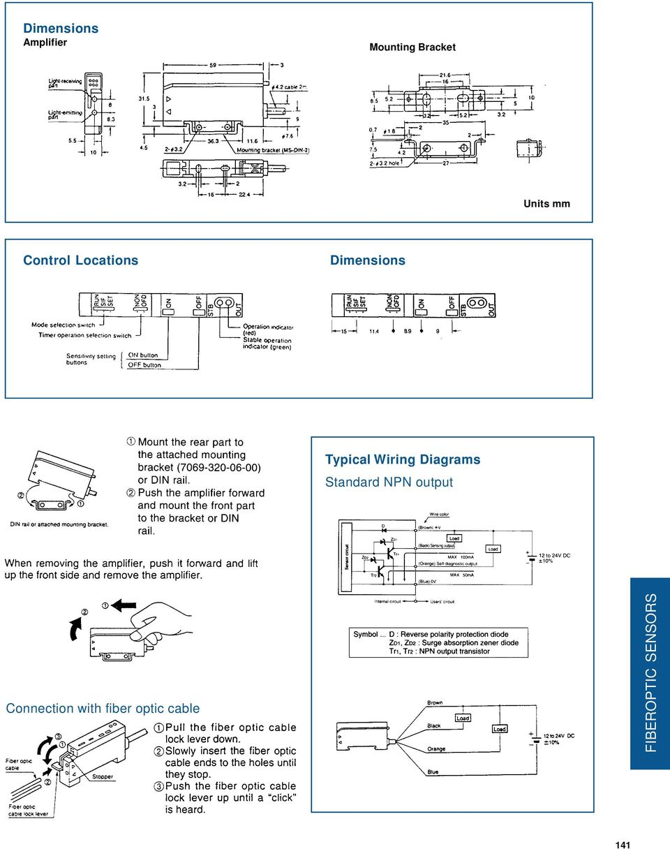 Typical Wiring Diagrams Standard NPN