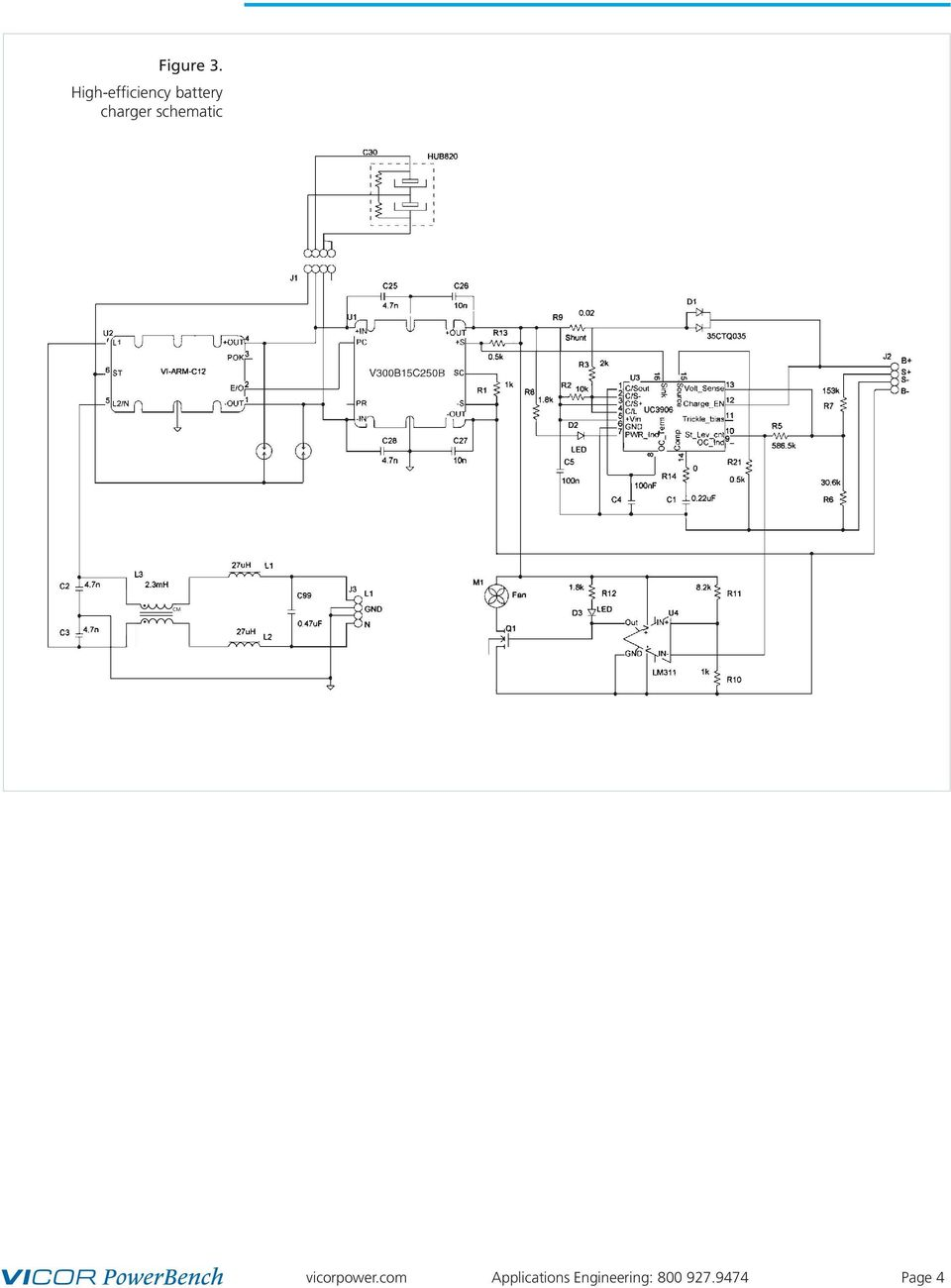 High Efficiency Battery Charger Using Power Components 1 Pdf Simple Pwm Controlled Dc To Cell Phone Circuit Science Schematic Cm