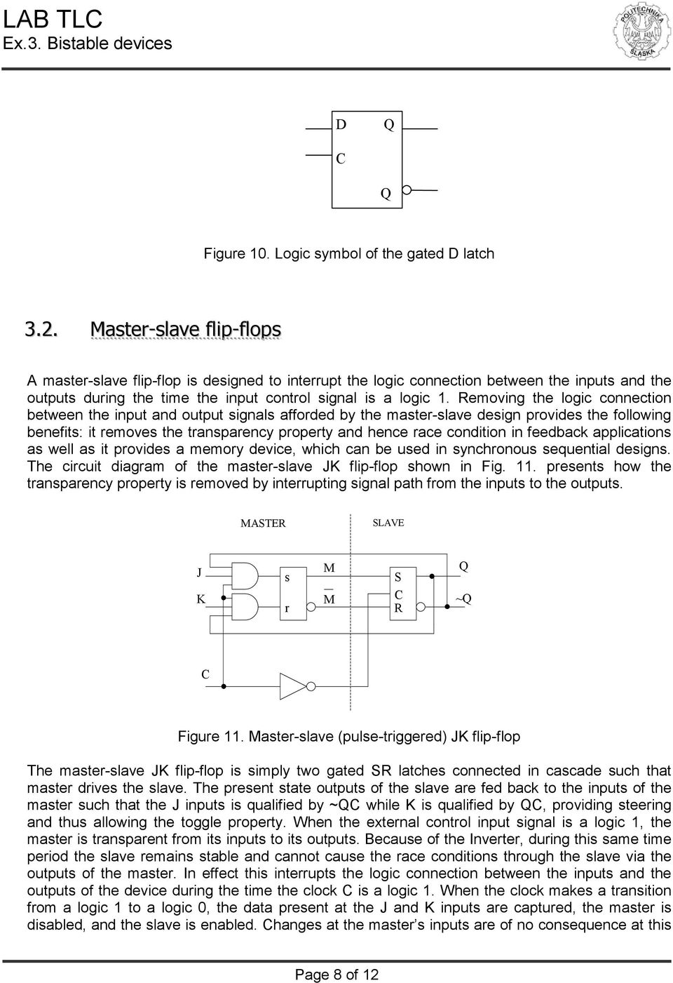 Master Logic Diagram Theory Of Circuits Laboratory Manual Exercise 3 Pdf Removing The Connection Between Input And Output Signals Afforded By Slave