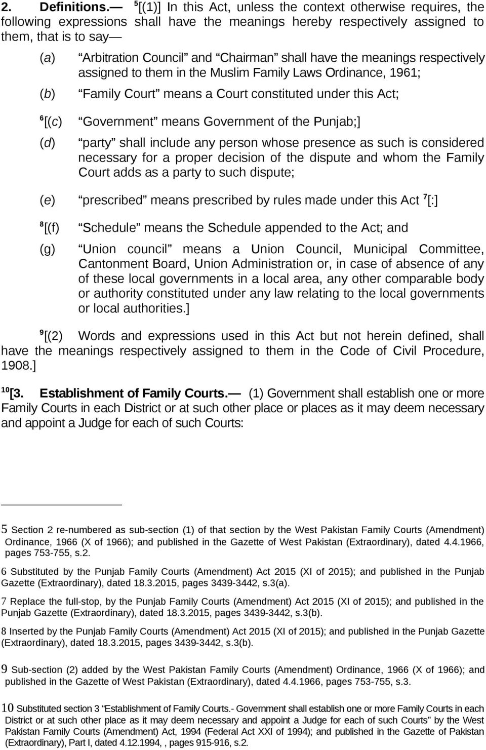 Shall Have The Meanings Respectivelyigned To Them In The Muslim Family Laws Ordinance 1961