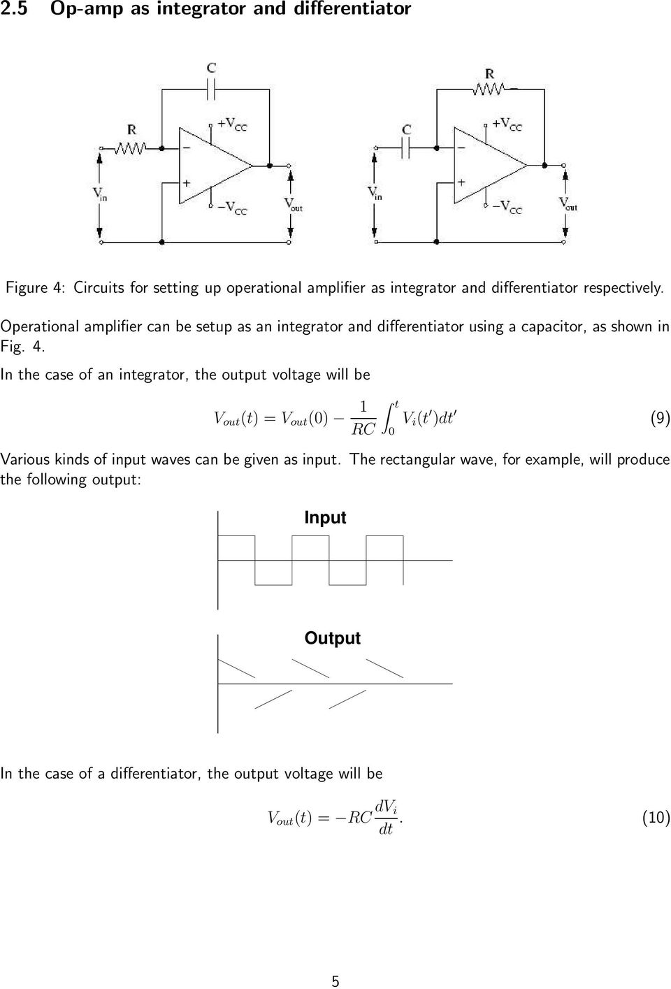 Operational Amplifier - IC PDF