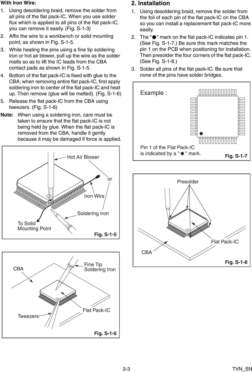 Service Manual Contents Pdf Wiring Diagrams 5 Wire Relay Diagram Fuseand5polerelay While Heating The Pins Using A Fine Tip Soldering Iron Or Hot Air Blower Pull