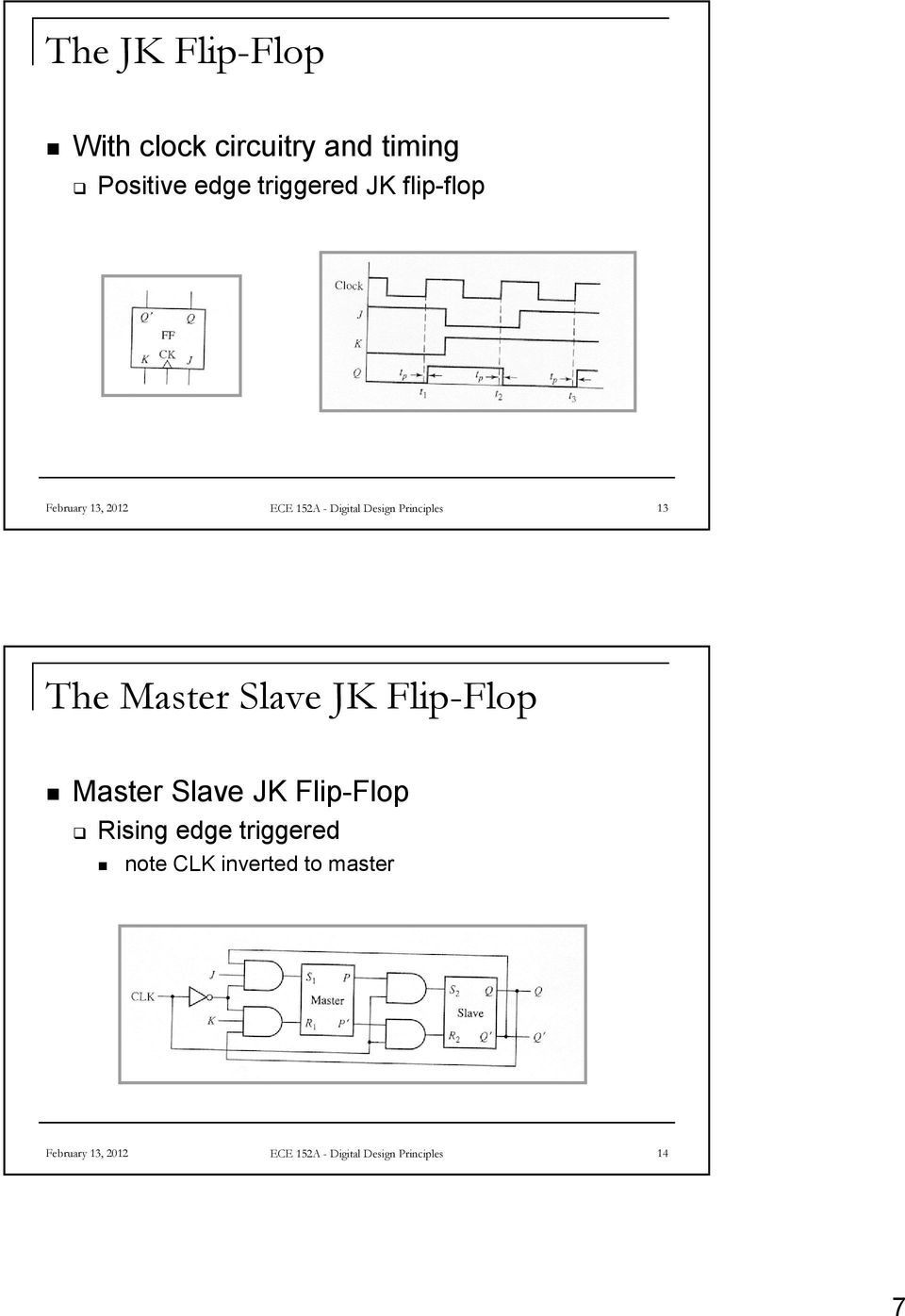Flip Flops And Sequential Circuit Design Pdf J K Flop Diagram Master Slave Jk Rising Edge Triggered