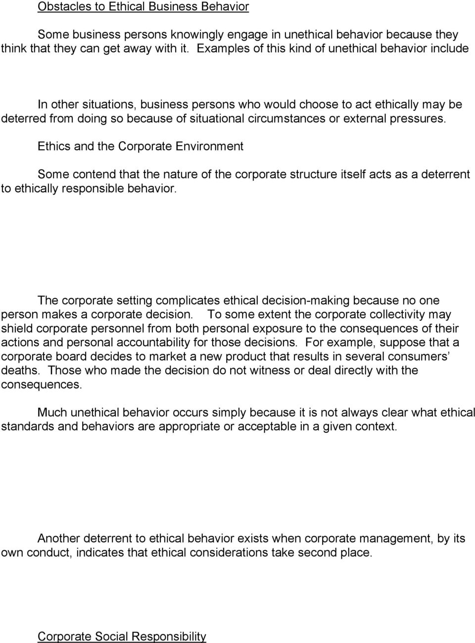 Chapter 2 The Ethical Basis of Law and Business Management - PDF