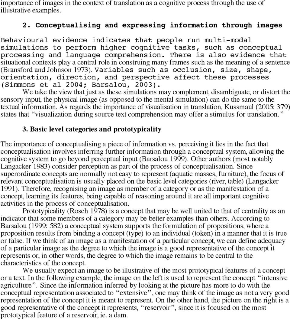 The Role of Images in the Translation of Technical and Scientific