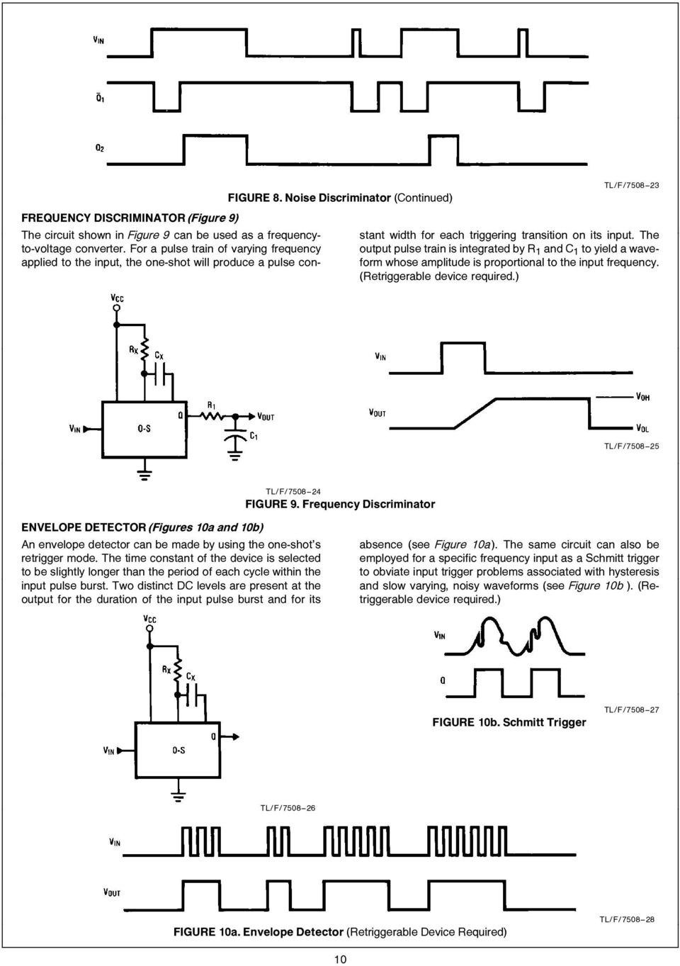 Designer S Encyclopedia Of Bipolar One Shots Pdf Often Called A Shot Multivibrator Is Pulse Generating Circuit Whose Amplitude Proportional To The Input Frequency Retriggerable Device Required Tl F 7508 11 Generator