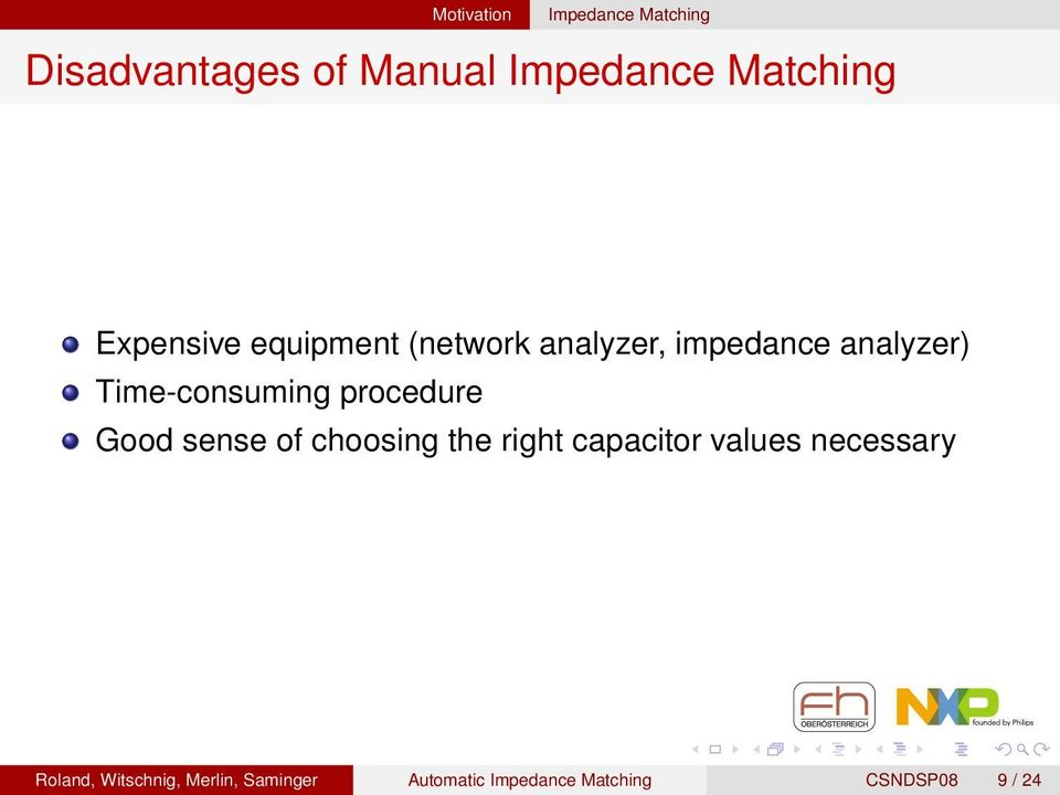 Automatic Impedance Matching for MHz NFC Antennas - PDF